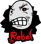 Rebel face