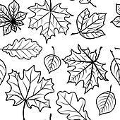 leaves seamless