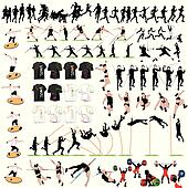 88 Sport Silhouettes and T-shirts