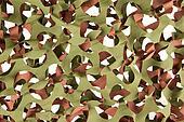 Camouflage net isolated