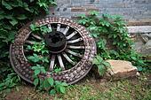ancient wooden wheels