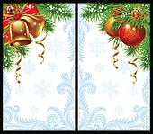 Christmas, New Year greeting card
