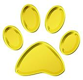 golden pet print