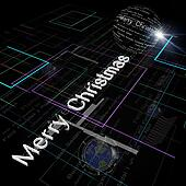 Christmas Greeting on Background of