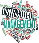 Word cloud for Distributed management