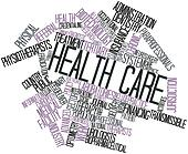 Word cloud for Health care
