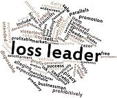 Word cloud for Loss leader