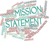 Word cloud for Mission statement