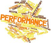 Word cloud for Performance