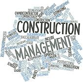 Word cloud for Construction management