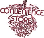 Word cloud for Convenience store