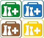 veterinary symbol with portfolio