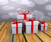 Gift boxes - 3D