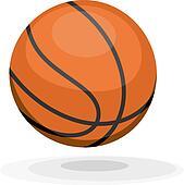 Cartoon basketball. ips10