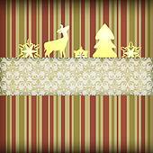 Vector  Christmas Composition