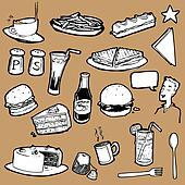 Cafeteria_Food_Elements_stock