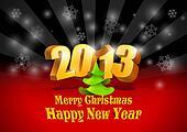 2013 New Year card.