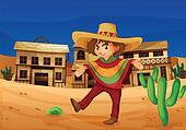 a mexican girl