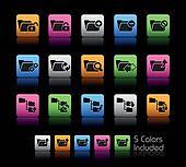 Folder Icons - 1 // Color Box