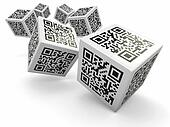 Lottery, Qr code cubes as dice