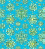 Christmas blue paper wrapping background. Abstract seamless patt