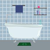 Bathroom Clip Art - Royalty Free - GoGraph