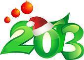 happy new year backround
