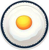 an egg omelet