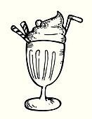 Rootbeer coloring pages ~ Float Clip Art - Royalty Free - GoGraph