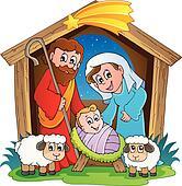Christmas Nativity scene 2