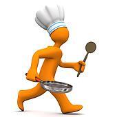 Chef Running