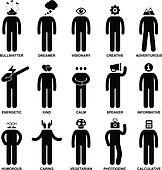 People Man Characteristic Attitude