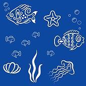 Decorative marine