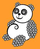 Decorative panda