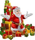 Santa and Christmas Gifts