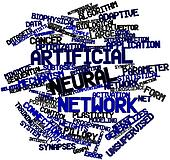 Word cloud for Artificial neural network