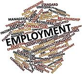 Word cloud for Employment