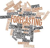 Word cloud for Forecasting