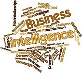 Word cloud for Business intelligence