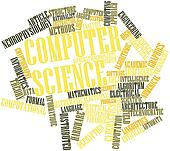 Word cloud for Computer science