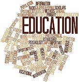 Word cloud for Education