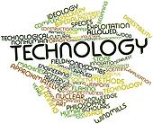 Word cloud for Technology