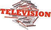 Word cloud for Television