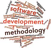 Word cloud for Software development methodology