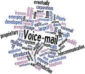 Word cloud for Voice-mail