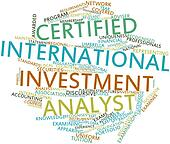 Word cloud for Certified International Investment Analyst
