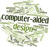 Word cloud for Computer-aided design