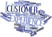 Word cloud for Customer experience