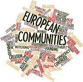 Word cloud for European Communities
