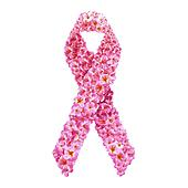 Pink ribbon. Breast cancer